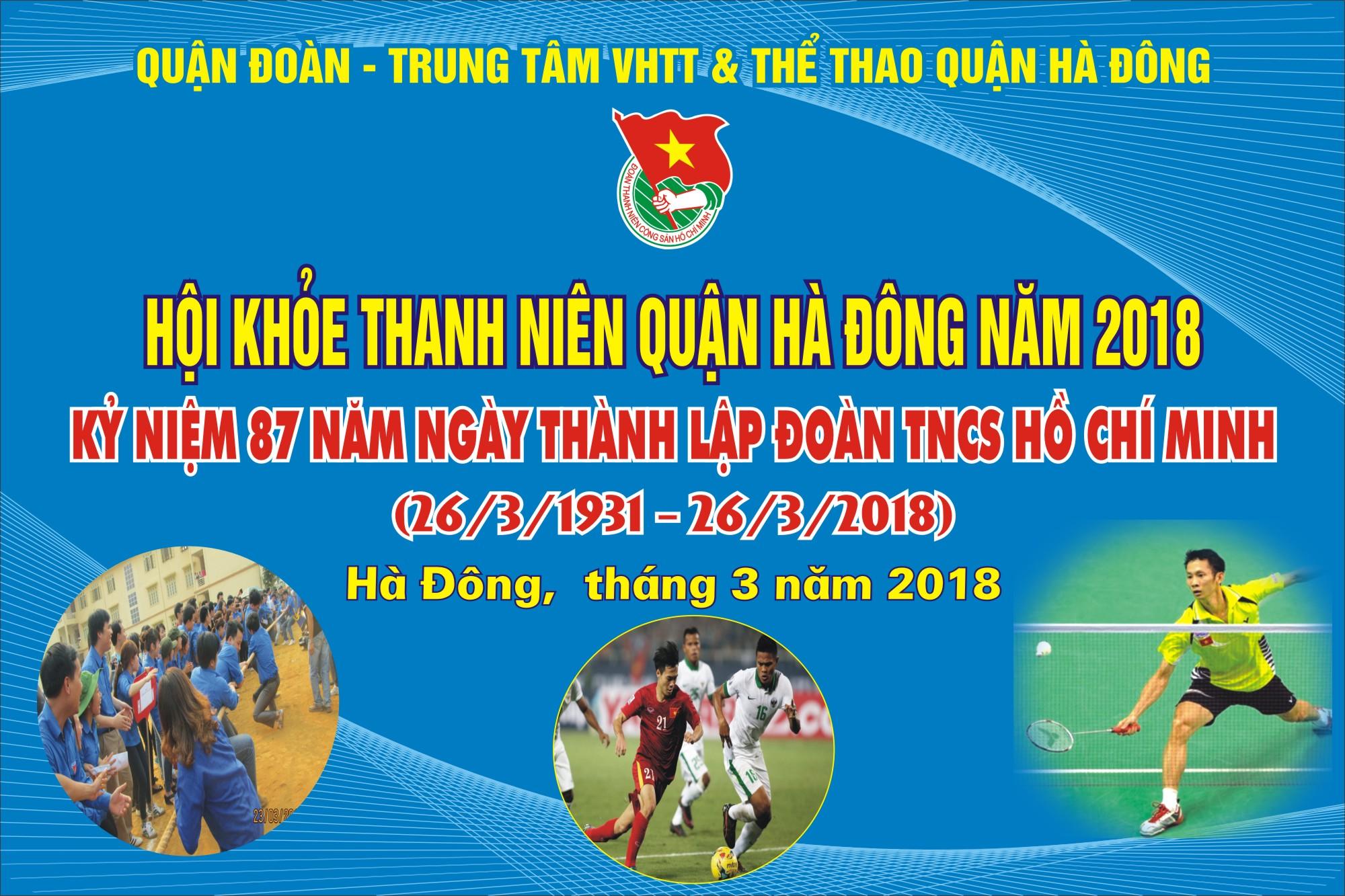 Sự kiện tháng 03: Hội khỏe thanh niên Hà Đông năm 2018