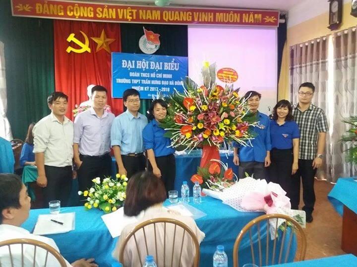 Đoàn trường THPT Trần Hưng Đạo Hà Đông tổ chức thành công Đại hội Đoàn trường