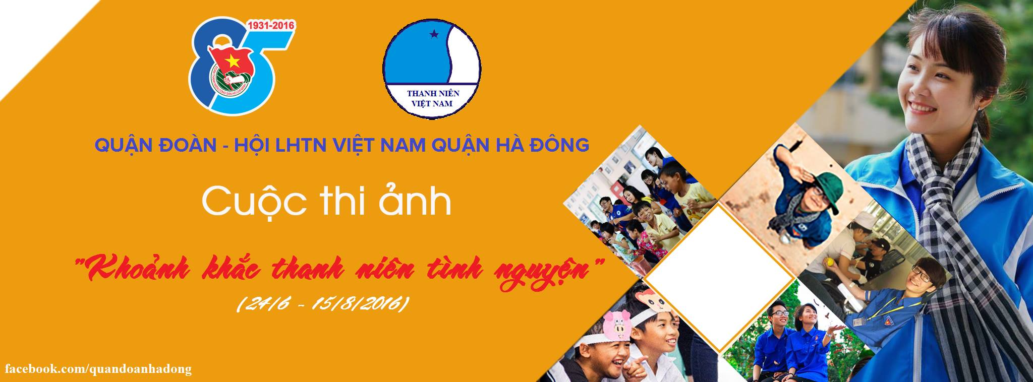 """Hội LHTN quận Hà Đông tổ chức cuộc thi ảnh """"Khoảnh khắc thanh niên tình nguyện"""""""