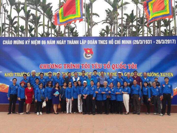 Quận đoàn -  Ban liên lạc Hội Cựu cán bộ Đoàn quận Hà Đông  tổ chức gặp mặt kỷ niệm 86 năm Ngày thành lập Đoàn TNCS Hồ Chí Minh (26/3/1931 - 26/3/2017)